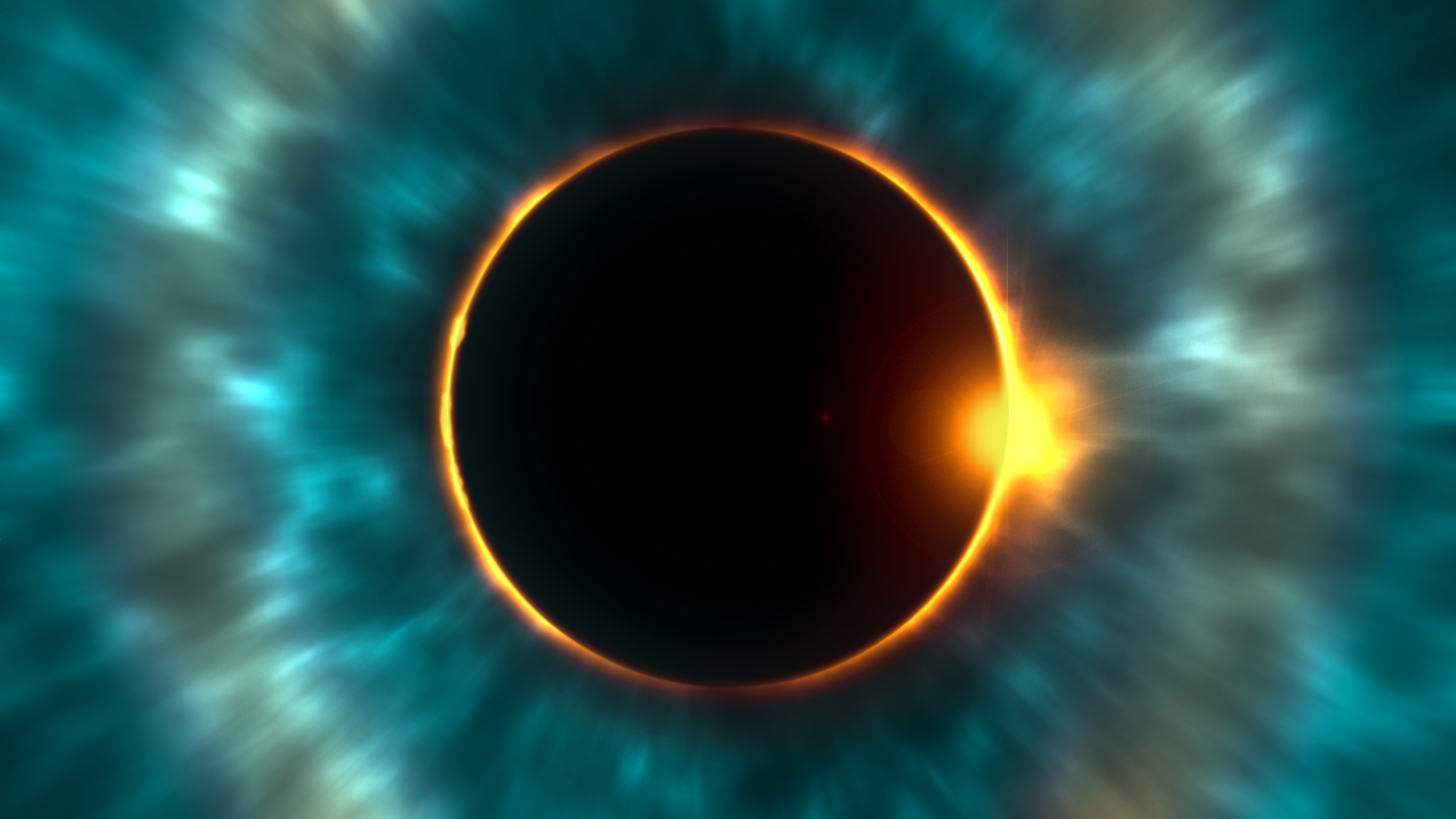 life after divorce and learning to love depicted by image of eclipse